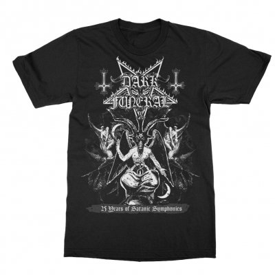 dark-funeral - 25th Anniversary Baphomet T-Shirt (Black)