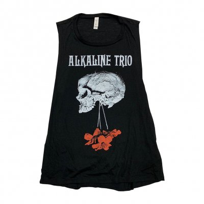alkaline-trio - Flowers Down Women's Tank