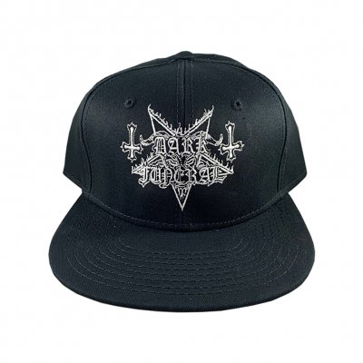 Dark Funeral - Embroidered Logo Snap Back (Black)