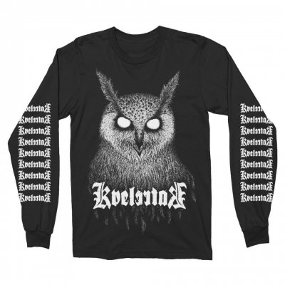 kvelertak - Barlett Owl Long Sleeve (Black)