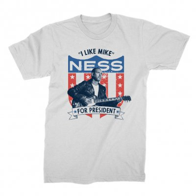 mike-ness - Presidential T-Shirt (White)