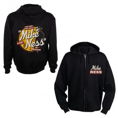 mike-ness - The One & Only Women's Zip-Up Hoodie (Black) Women