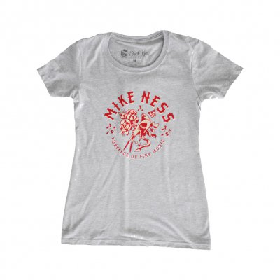 mike-ness - Songbird Women's T-Shirt (Grey)