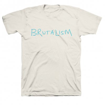 The Drums - Brutalism Tee (White)