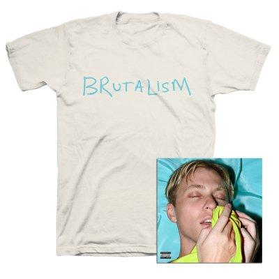 The Drums - Brutalism CD + Tee (White) Bundle