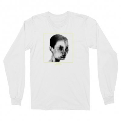 the-drums - Teenage Head Long Sleeve (White)
