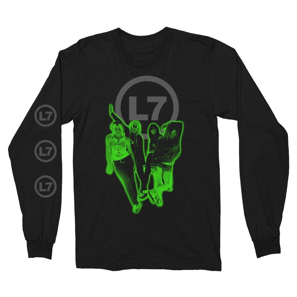 IMAGE   Glow Long Sleeve (Black)