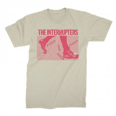 the-interrupters - Boots Tee (Natural)