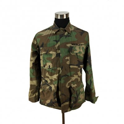 ziggy-marley - Custom Embroidered Army Jacket (Camo)