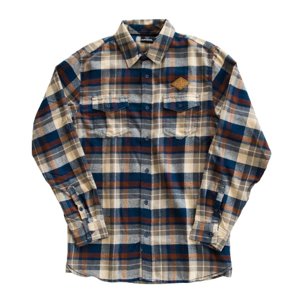 IMAGE | Desert Patch Flannel (Brown)
