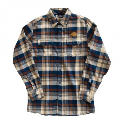 jimmy-eat-world - Desert Patch Flannel (Brown)