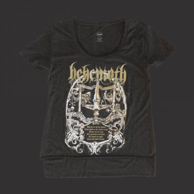 behemoth - Harlot Women's Scoop Neck T-Shirt (Black)