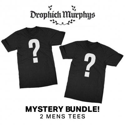 dropkick-murphys - Mystery Shirt, Patch & Vinyl bundle