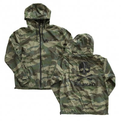 rancid - D Skull Windbreaker (Camo)