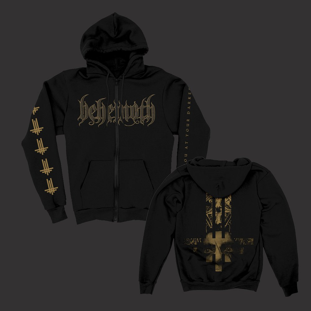 IMAGE   Triumviratus Zip Up Sweatshirt (Black)