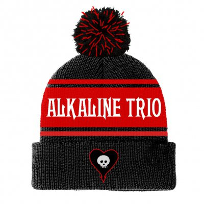 alkaline-trio - Classic Pom Beanie