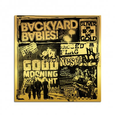 backyard-babies - Sliver & Gold CD