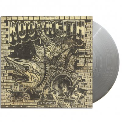 "Kool Keith - ""Blast"" b/w ""Uncrushable"" EP (Grey)"