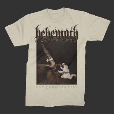 behemoth - Inverted Crucifix T-Shirt (Natural)