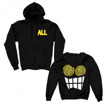 Allroy Zip-Up Hoodie (Black)