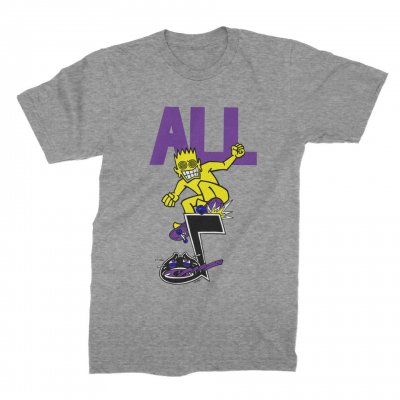 ALL - Skateroy Tee (Grey)