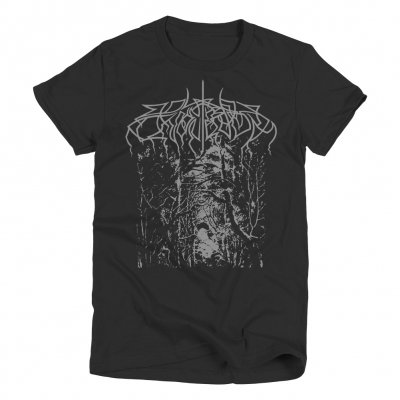 valhalla - Silver Forest T-Shirt (Black)