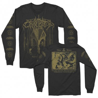 Wolves In The Throne Room - Thrice Woven Long Sleeve Tee (Black)