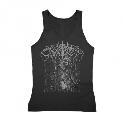 Wolves In The Throne Room - Silver Forest Women's Tank Top (Black)