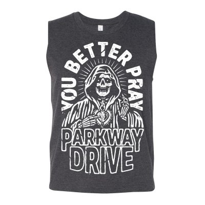 parkway-drive - You Better Pray Tank (Dark Grey)