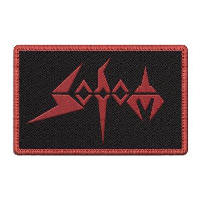 sodom - Red Logo Patch