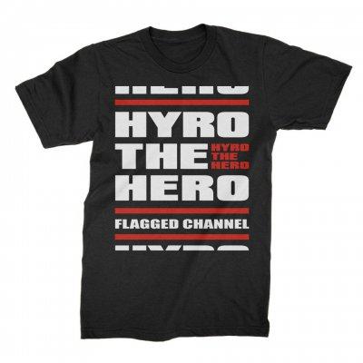 hyro-the-hero - Stacked Tee (Black)