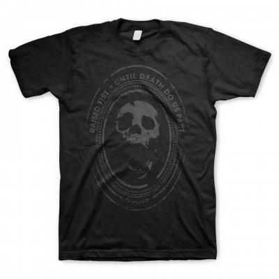 raised-fist - Until Death T-Shirt (Black)