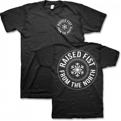 raised-fist - From The North T-Shirt (Black)