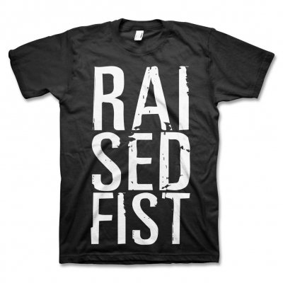 raised-fist - RAI SED T-Shirt (Black)