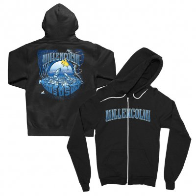 millencolin - SOS Zip Up Hoodie (Black)