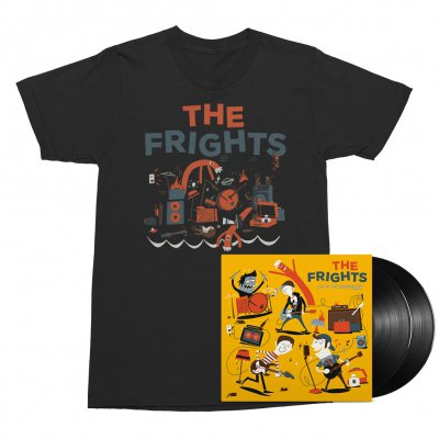 The Frights - Live at The Observatory 2xLP (Black) + Tee (Black) Bundle