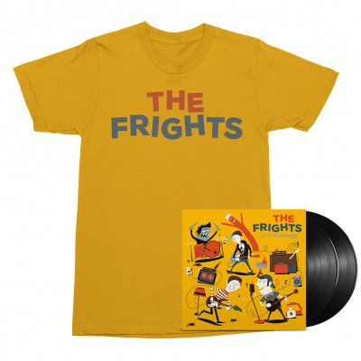 The Frights - Live at The Observatory 2xLP (Black) + Tee (Gold) Bundle
