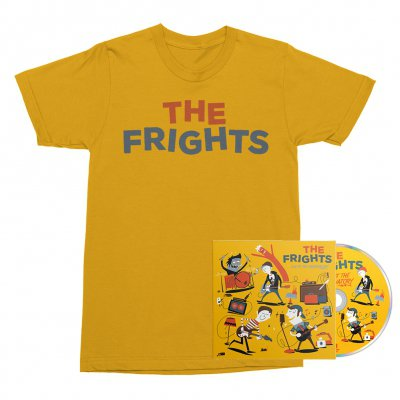The Frights - Live at The Observatory CD + Tee (Gold) Bundle