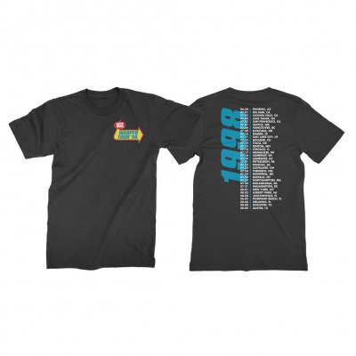vans-warped-tour - Retrospective 1998 T-Shirt (Black)