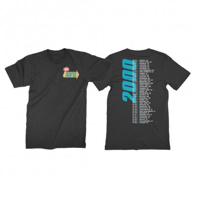 vans-warped-tour - Retrospective 2000 T-Shirt (Black)
