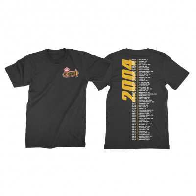 vans-warped-tour - Retrospective 2004 T-Shirt (Black)