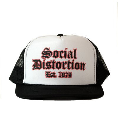social-distortion - Old English Trucker Hat