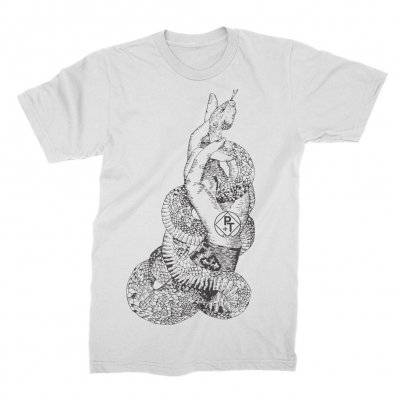 prism-tats - Snake Hand Tee (White)