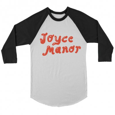 joyce-manor - Milkshake Logo Raglan (White/Black)
