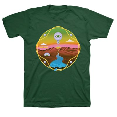 The Dream Syndicate - These Times Tee (Green)