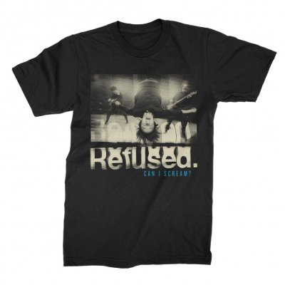 Refused - Can I Scream Tee (Black)