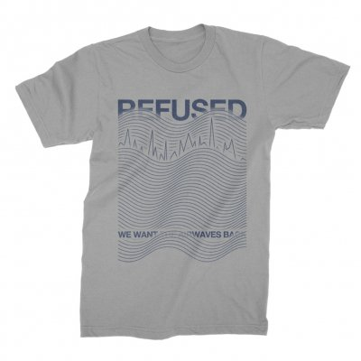 Refused - Airwaves Tee (Light Grey)