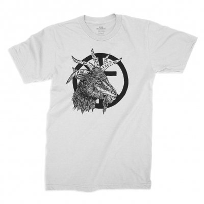 bad-religion - Goat Tee (White)