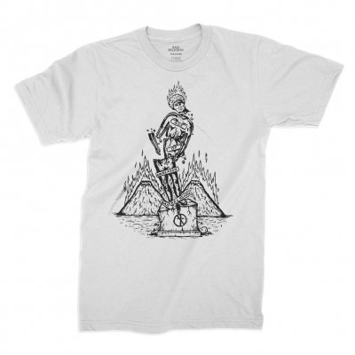 bad-religion - Statue Tee (White)