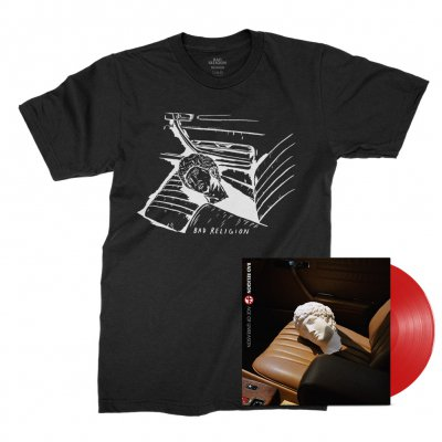 bad-religion - Age of Unreason LP (Red) + Car Seat Tee (Black) Bundle